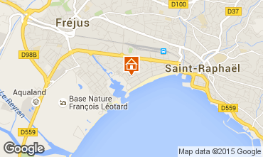 Karte Fréjus Appartement 8488