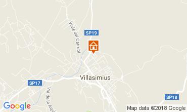 Karte Villasimius Haus 113165