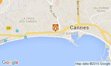 Karte Cannes Appartement 104812
