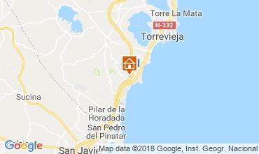 Karte Torrevieja Appartement 117300