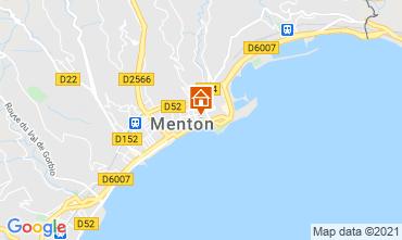 Karte Menton Appartement 101898