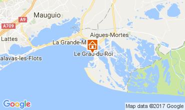 Karte Le Grau du Roi Appartement 110385