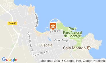 Karte L'Escala Appartement 114242