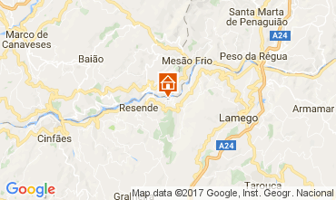 Karte Lamego Villa 110051