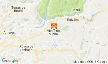 Karte Vieira do Minho Villa 78711