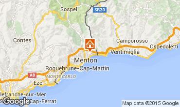 Karte Menton Ferienunterkunft auf dem Land 88518