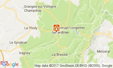Karte Gérardmer Chalet 108389