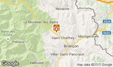 Karte Serre Chevalier Chalet 2972