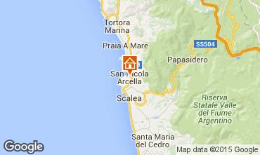 Karte San Nicola Arcella Appartement 85081