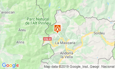 Karte Pal-Arinsal Chalet 4740