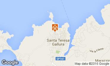 Karte Santa Teresa di Gallura Appartement 71999