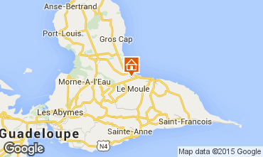 Karte Le Moule Villa 90491