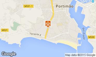Karte Praia da Rocha Appartement 68992
