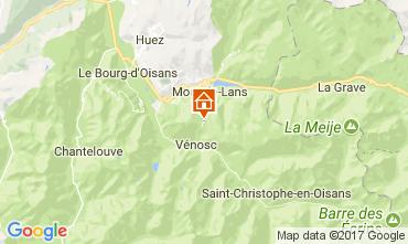Karte Les 2 Alpes Studio 82617