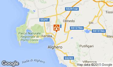 Karte Alghero Haus 94774