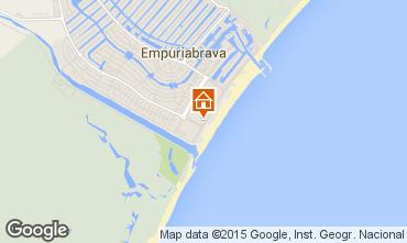 Karte Empuriabrava Appartement 68823