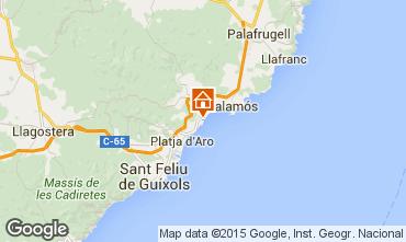 Karte Sant Antoni de Calonge Appartement 94441