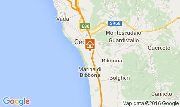 Karte Cecina Appartement 67740