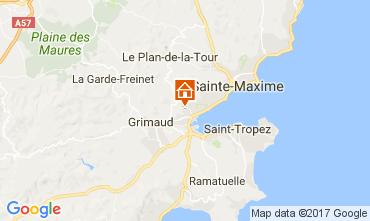 Karte Port Grimaud Haus 70377