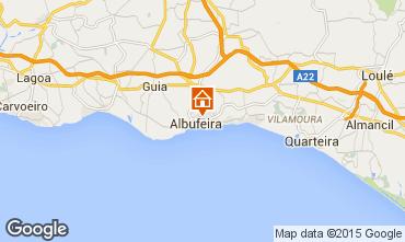 Karte Albufeira Appartement 70872