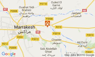 Karte Marrakesch Villa 100715