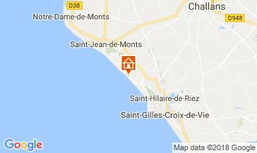 Karte Saint Hilaire de Riez Appartement 103867