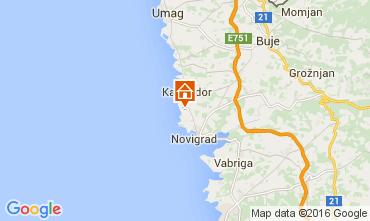 Karte Novigrad Appartement 62763