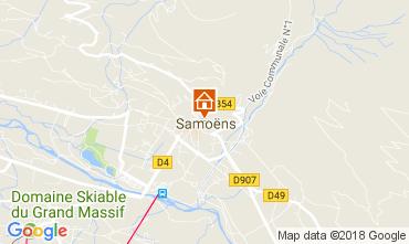 Karte Samoëns Studio 66514