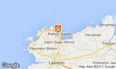 Karte Perros-Guirec Studio 92130
