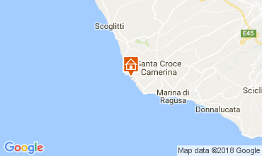 Karte Punta Secca Villa 42957