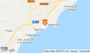 Karte Águilas Appartement 108388