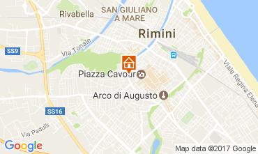 Karte Rimini Appartement 109616