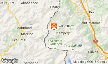 Karte Les Crosets Studio 4698