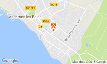 Karte Andernos les Bains Haus 115334