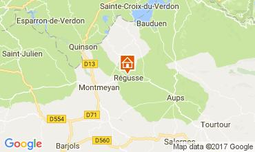 Karte Les Salles sur Verdon Haus 29581