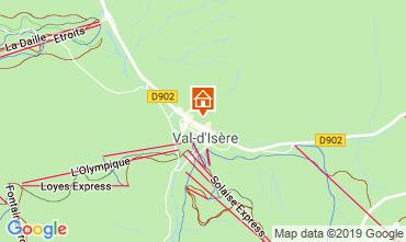 Karte Val d'Isère Appartement 117667