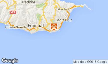 Karte Santa Cruz Bungalow 39156