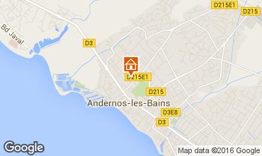 Karte Andernos les Bains Haus 55736
