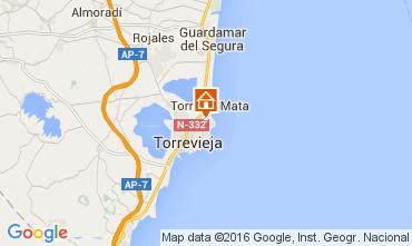 Karte Torrevieja Appartement 83846