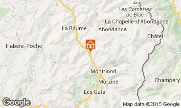 Karte Morzine Chalet 1952