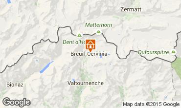 Karte Cervinia (Breuil) Appartement 28644