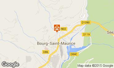 Karte Bourg Saint Maurice Appartement 81054
