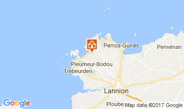 Karte Pleumeur-Bodou Haus 108191