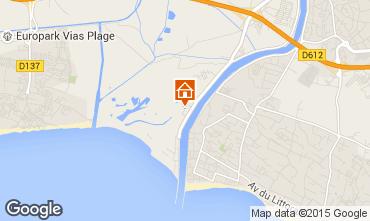Karte Agde Mobil-Home 28956