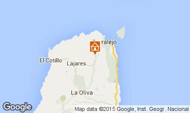 Karte Corralejo Villa 69895