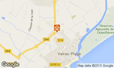Karte Valras-Plage Mobil-Home 95160