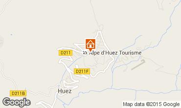 Karte Alpe d'Huez Appartement 28869