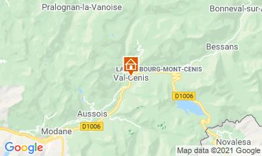 Karte Termignon la Vanoise Appartement 49523