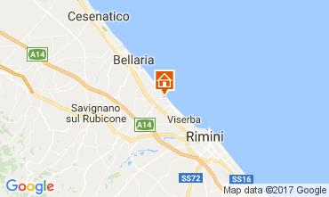 Karte Rimini Appartement 102721
