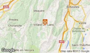 Karte Villard de Lans - Corrençon en Vercors Studio 28781